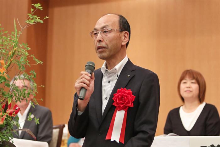 桐生市鳥井副市長の写真